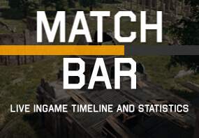Match Bar for PUBG